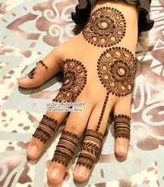 Beautiful and Easy Mehndi Design Collection, Heena and Arabic Mehndi Design (Page-10) - Fashion