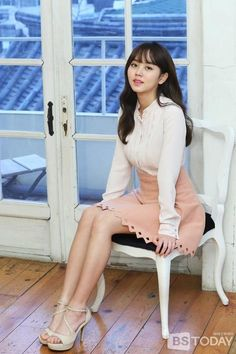 Kim So-hyun (김소현) - Picture @ HanCinema :: The Korean Movie and Drama Database Kim So Hyun Fashion, Korean Fashion, Korean Beauty, Asian Beauty, Asian Woman, Asian Girl, Korean Picture, Kim Sohyun, Kim Yoo Jung