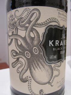 """The kraken, ron de caña de azúcar. Notas a clavo, vainilla y caramelo.Sesión  """"Análisis Sensorial Bebidas Espirituosas"""" en laUnión Española de Catadores, 13.04.2013 Imagen Nuria Blanco, @nuriblan"""