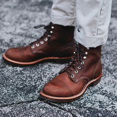 Welcome to the family. Red Wing Heritage Iron Ranger 8111. J.Crew Chinos…
