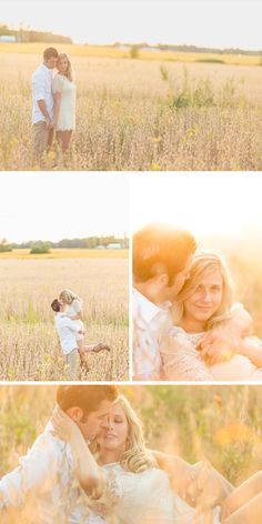 romantic fall engagement on an ohio farm | ben and les
