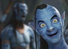 Mr. Bean's Avatar hahahaha