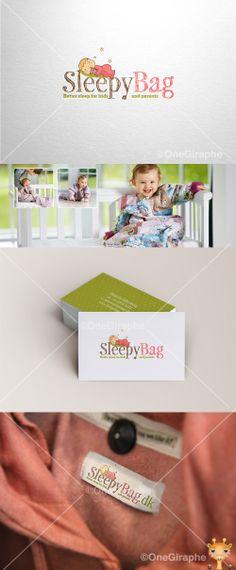 SleepyBag http://sleepybag.dk #sleepybag #sleepy #baby #logo #logodesign #cute…