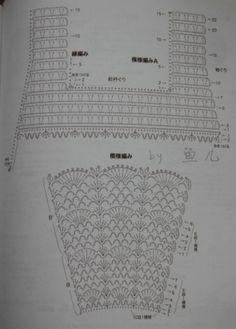 Crochet baby dress / crochet dress / crochet dress pattern / handbag baby dress :: be pp Beau Crochet, Crochet Baby Dress Pattern, Baby Dress Patterns, Baby Girl Crochet, Crochet Baby Clothes, Crochet Diagram, Crochet Chart, Crochet For Kids, Crochet Patterns
