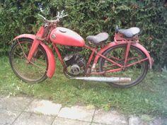Miele Motorrad : K-20  98ccm Sachsmotor  1953