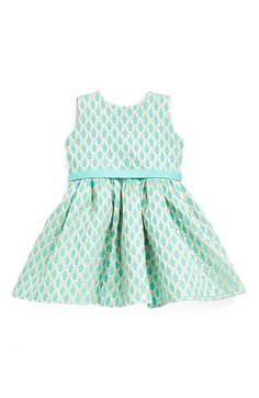 Halabaloo 'Mermaid' Boatneck Dress (Baby Girls) available at #Nordstrom