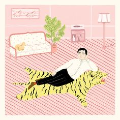 Rachel Levit is a Brooklyn based illustrator born and raised in Mexico City. Her illustrations are a collection of nonchalant characters in somewhat m...