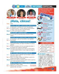 Using the News Media to Learn Spanish Better – Learn Spanish Spanish Basics, Spanish 1, Spanish Words, Spanish Lessons, Spanish Language, Elementary Spanish, Spanish Classroom, Spanish Vocabulary, Teaching Spanish