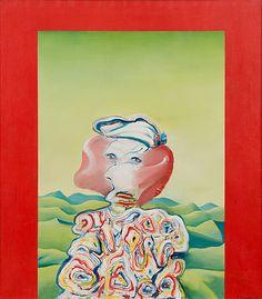 "JUHANI LINNOVAARA, ""PELÄSTYNYT NAINEN"". Bukowski, Auction, Design, Art, Art Background, Kunst, Performing Arts, Art Education Resources"