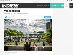 Sept 7-9 Harbourfront veg food Summer Festivals, Profile View, Songs, Instagram, Food, Meals