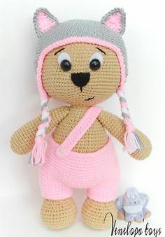 Amigurumi Bear Pattern Crochet Bear Pattern door VenelopaTOYS