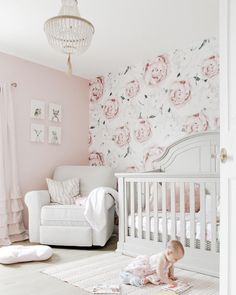 165 Hot Pink Nursery Ideas Baby Girls Girl