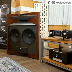Mark Levinson amps and JBL Speakers
