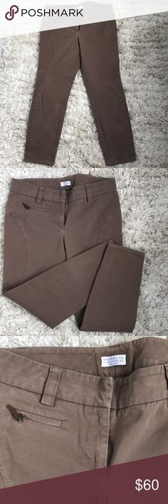 Brunello Cucinelli pants size 4 Great pants. It has some spandex fits size 2-4. It marked as US size 6 but they would be tight for 6. Brunello Cucinelli Pants Skinny
