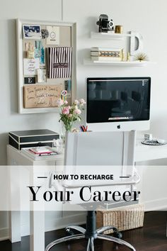 Recharging Your Career Tips.... food for thought on organization and strategy