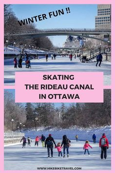 Skating the Rideau Canal in Ottawa is always fun no matter what your age. Easy to rent skates, Warming huts & food like beavertails for sale Things To Do Nearby, Travel Guides, Travel Tips, Visit Canada, Winter Activities, Winter Fun, Canada Travel, Skates, World Heritage Sites