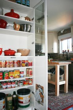 small pantry in kitchen billy bookcase 03