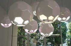 Hexa_Lamp_DesignLibero_CubeMe1 Pendant Lighting, Pendant Lamps, Lamp Design, Interior Lighting, Geometry, Bee Wax, Home Goods, Home Improvement, Furniture Design