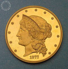fifty dollar gold coin | photo