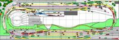model railroad shelf plans | HO Model Train Layouts, HO Scale Layouts & Model Railroad