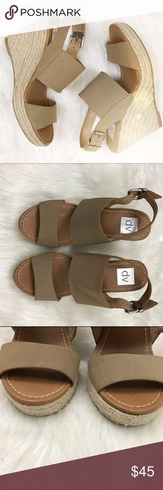 Dolce Vita nude/tan wedges. Excellent condition, size 8!  Dolce Vita Shoes Wedges