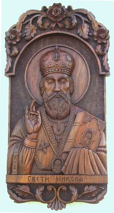 Art Icon of St. Nicholas