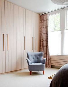 Wardrobe ideas, bedroom storage and clothes storage ideas; from stylish fitted wardrobes, corner wardrobes and built in cupboards, to mirrored and sliding wardrobe doors and storage boxes. Bedroom Design, Interior, Built In Cupboards, Bedroom Decor, Wardrobe Doors, Home Decor, Bedroom Built In Wardrobe, Room, Mdf Doors