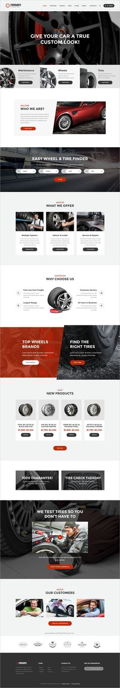 Reisen is a unique and modern design responsive #WordPress theme for #auto #mechanics, car repair shops or #garages website with 4 different homepage layouts download now➩ https://themeforest.net/item/reisen-automechanic-car-repair-theme/18891512?ref=Datasata