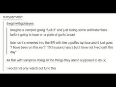 I don't even like vampires and I would totally watch this