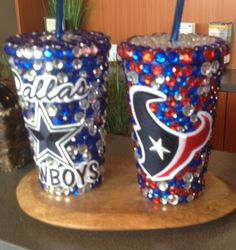 Cups with bling Tumbler by sunnysunshine33 on Etsy, $29.99