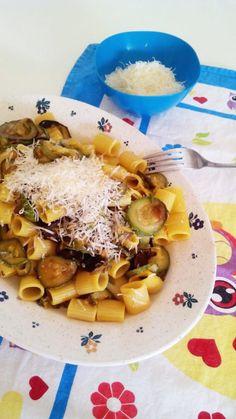Recipe and Stitch | Pasta with squashes and saffron | http://www.recipeandstitch.com