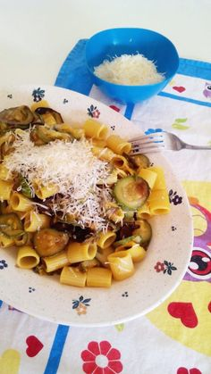 Recipe and Stitch | Pasta with squashes and saffron | http://www.recipeandstitch.com