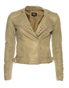 TRAFFIC CLOTHING | Janine Jacket in Slate - - Style36 Festival Fashion, Slate, Leather Jacket, Clothing, Jackets, Women, Studded Leather Jacket, Tall Clothing, Down Jackets