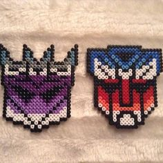 Transformers perler beads by surrohtookaphoto