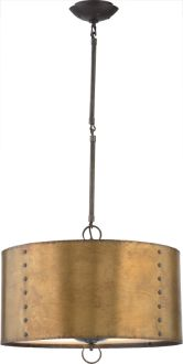 New Product: Whitney Large Hanging Light by Thomas O'Brien for Visual Comfort & Co. | Shown in Aged Iron | #apresski #mountainchic