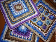 Купить Декоративные чехлы для диванных подушек - комбинированный, подушка, подушка декоративная, дополнение к пледу