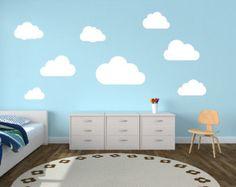 kids room design cloud wall - Google Search