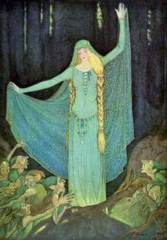 Grimm's Fairytales Illustration -- Elenore Abbot -- Fairytale Illustration