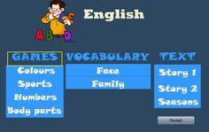 Παιχνιδάκια για το μάθημα των αγγλικών