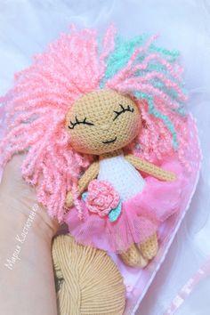 PDF Кукла Розочка. Бесплатный мастер-класс, схема и описание для вязания игрушки амигуруми крючком. Вяжем игрушки своими руками! FREE amigurumi pattern. #амигуруми #amigurumi #схема #описание #мк #pattern #вязание #crochet #knitting #toy #handmade #поделки #pdf #рукоделие #кукла #куколка #doll #dolly