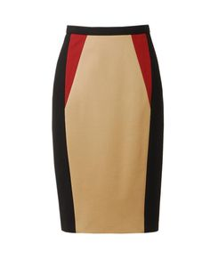 Colour Blocked Techno Jersey Pencil Skirt by JASON WU at Browns Fashion for £545.00