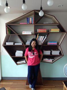 i love all bookshelf
