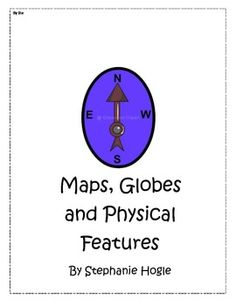Book to print on Maps- first grade