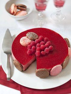 Bavarois framboise-chocolat : Recette de Bavarois framboise-chocolat - Marmiton