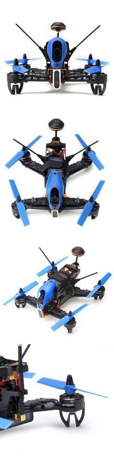 Walkera F210 - 3D 5.8GHz FPV BNF 700TVL Camera 7CH 2.4GHz Racing Drone F3 Upgraded OSD Flight Controller