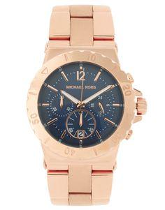 Michael Kors MK 5410 Rose Gold Watch - ASOS