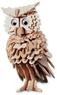 3-D Wooden Puzzle - Owl