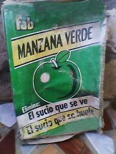 Detergente FAB manzana verde
