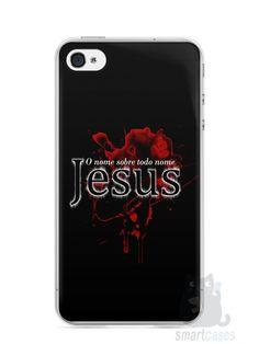 Capa Iphone 4/S Jesus #5 - SmartCases - Acessórios para celulares e tablets :)