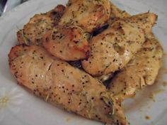 Honey, Garlic and Rosemary Chicken Paleo Recipe